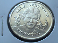 DALE WEIGHTMAN - RICHMOND TIGERS HERALD SUN AFL  COMMEMORATIVE MEDAL COIN