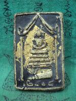 Phra Somdej Toh Wat Phra Kaew Old Talisman Year b.e.2408 Thai Buddha Amulet