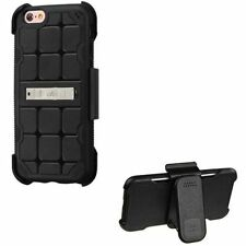 Silicone/Gel/Rubber Fitted Cases with Kickstand for Apple Phones