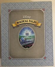 Disney Collection of Magical Tales in 2 Hardcover Books Enchanted Charming, NEW