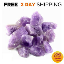 1/2LB Rough AMETHYST LOT QUARTZ CRYSTAL Purple Stone Raw Stones Set LARGE + BAG