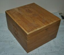 HELLZ A CRIME for ALL SEASONS Gift STORAGE BOX Natural Wood RARE