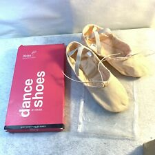 AKISS LT PINK BALLET SLIPPERS DANCE SHOES YOUTH GIRL'S SIZE 13M L  New