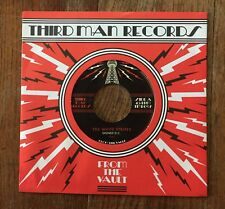 """The White Stripes """"Signed D.C."""" 45 The Vault 8 Jack White 7"""" Third Man Records"""