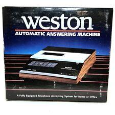 Original Vintage Weston Automatic Phone Answering Machine Model 4015 E140