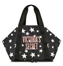 Victoria's Secret Celestial Shimmer Packable Black Weekender Tote Bag