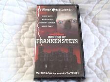 HORROR OF FRANKENSTEIN VHS WS WIDESCREEN HAMMER RALPH BATES ANCHOR BAY CLAMSHELL