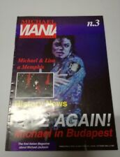 michael jackson rivista MICHAEL MANIA INTERNATIONAL N.3, 1994 £.7000 rara!