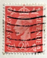Great Britain stamps - King George VI 2.1/2d  1951