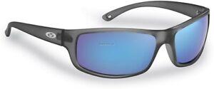 Flying Fisherman 7756GSB Slack Tide Sunglasses Granite Smoke-Blue Mirror
