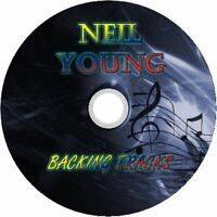 NEIL YOUNG GUITAR BACKING TRACKS CD BEST GREATEST HITS MUSIC PLAY ALONG MP3 ROCK