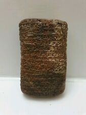 NearEastern Cuneiform clay Tablet-Early Form Of writings
