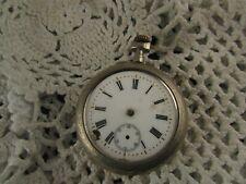 ancienne montre a gousset argentan chronometre fin XIXe 4.5cm