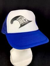 Chris Ruddy Surfboards Blue White Trucker Hat Cap Snapback Adjustable Back  OS df247eac70e
