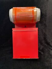 Uline Label Protection Tape Dispenser With Extra Roll Of Tape