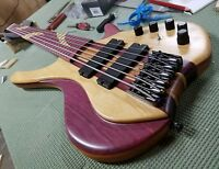 MGbass Desert 6 strings pickup preamp emg parts gotoh exotic ( Down Payment )