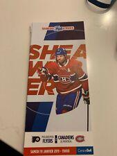 unused season hockey tickets Canadiens Shea Weber 19 january 2019