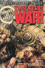 Zombies Vs Robots Volume 1 This Means War TPB $18 Short Stories New FREE SH
