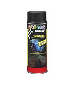 Dupli-Color Supertherm Hitzelack black 800°C 400ml Spraydose schwarz 191794