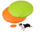 Juego de 2 frisbees Para Perros Disco Volador Duradero De Goma Natural Flexible