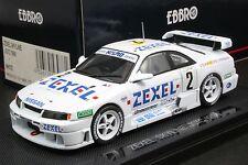 Ebbro 43978 1:43 ZEXEL Nismo Nissan Skyline GT-R (R33) JGTC 1996 Die Cast Model