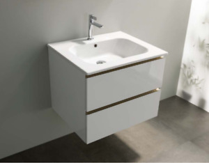No Code Canale 61x51 Basin with 1 tap hole and 2 drawer Vintage Dark