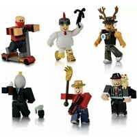 Masters of Roblox Action Collection Six Figure Pack w Exclusive Virtual Item