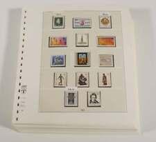 BUND + BERLIN 1981-90 postfrische Sammlung auf Lindner T Vordruckblätter (94584)