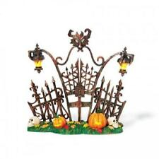 Department 56 Halloween (New) Lit Gothic Gate #800027