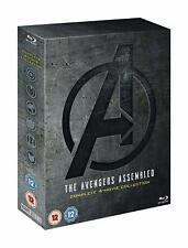 The Avengers Complete Collection [1-4] (Blu-ray, 5 Discs, Region Free) *NEW*