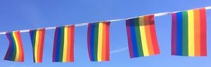 Rainbow Bunting  - LGBT- Pride - Wholesale lengths - Free 1st Class Postage