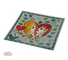 "RIZZI ""I Square I Love You"" NEU/OVP GOEBEL Schale Pop-Art Design Platte Teller"
