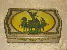 More details for rare antique collectable cadbury's gift box tin - 1914 - 1918