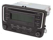 NEU Original VW Autoradio RCD + USB SD Karten Leser + AUX3 MP3 CD Auto KFZ NEU