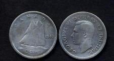 CANADA 10 Cents 1943  AG
