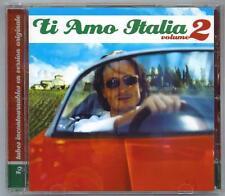 TI AMO ITALIA - VOL.2 - 19 TUBES INCONTOURNABLES ORIGINALE - MINT CD