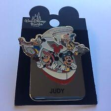 WDW - Monorail JUDY Name Pin FAB 4 Mickey Minnie Goofy Donald Disney Pin 15004
