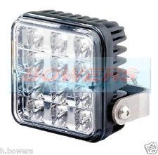 TRUCK LITE VARIPOD 12V/24V 12 LED WHITE/CLEAR STROBE/HAZARD/WARNING LAMP/LIGHT