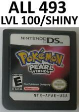Pokemon Pearl DS lite DSi XL 3DS All 493 Shiny Game Unlocked Event Arceus Palkia