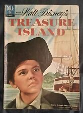 WALT DISNEY'S TREASURE ISLAND - DELL MOVIE CLASSIC COMICS - SEPT. 1962