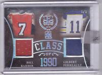 15-16 ITG Leaf Bill Barber Gilbert Perreault 1/1 Jersey Enshrined 2016