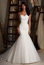 Unbranded Tulle Mermaid & Trumpet Wedding Dresses
