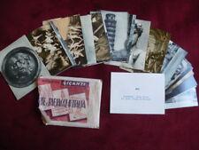 Lotto 65 figurine Arte e paesaggi d'Italia con bustina MARVI anni'50 no PANINI