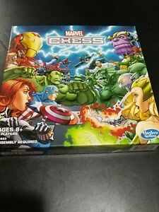 Marvel Chess Set-Board Game-Heroes And Villians-2015