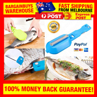 Fish Cleaning Scaling Knife Cleaner Descaler Skinner Scaler Fishing Kitchen Tool
