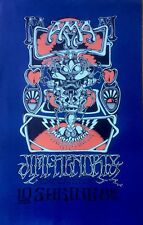 JIMI HENDRIX AT THE SHRINE SF POSTER CO, VINTAGE REPRO PSYCHEDELIC POSTER