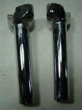 "Harley 6"" handlebar risers chrome Softail FXR Sportster Dyna FXRT EPS15765"