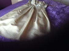 A n evening dress by Nicholas millington gold size 8