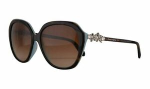 Genuine Tiffany & Co TF4132 Sunglasses Replacement Lenses Gradient Brown A/R