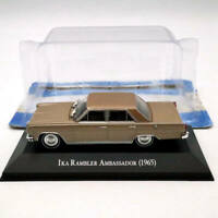 IXO 1:43 IKA Rambler Ambassador 1965 Diecast Models Toys Car Collection Gift
